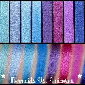 Revolution Beauty Mermaid and Unicorn eyeshadow